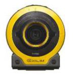 エクシリム 「EX-FR110H」高感度撮影に強いアクションカメラ