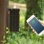 「Solar Paper」2.5時間でフル充電するソーラー充電器