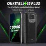 「OUKITEL K15 Plus」は驚異の大容量?長持ちスマホと徹底 比較!